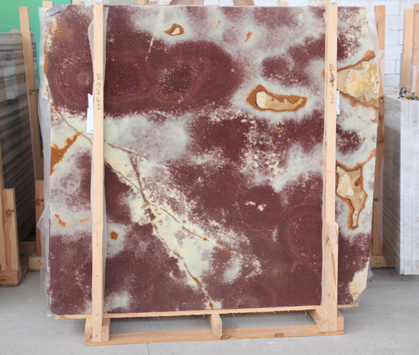 Red Onyx #B9747 Polished - Altura Stone and Tile