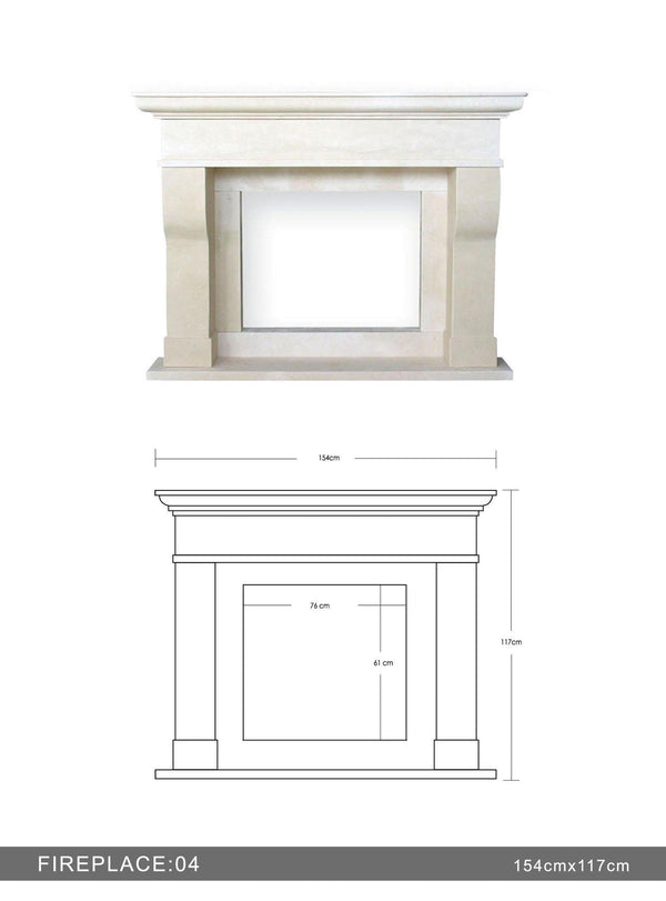 Fireplace #4 - Altura Stone and Tile