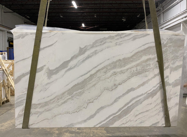 Glacier White Olympico #M9180 Honed - Altura Stone and Tile