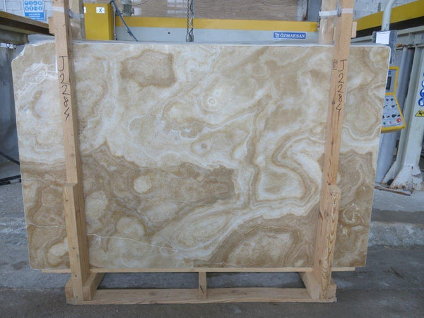 Honey Onyx #J2284 Polished - Altura Stone and Tile