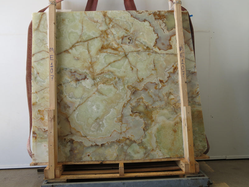 Green Onyx #ME107 Polished - Altura Stone and Tile
