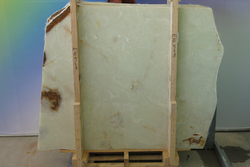 White Onyx #ME548 Polished - Altura Stone and Tile