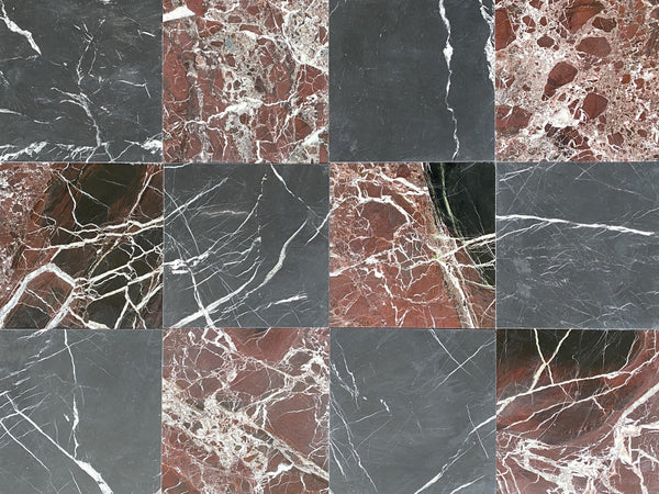 Black Silk - Rosso Levanto - Altura Stone and Tile