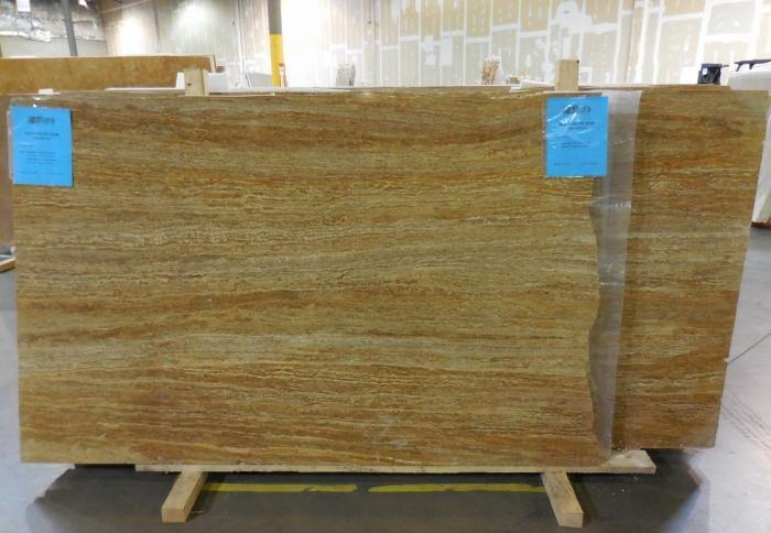 Gold Travertine #TG511 Polished - Altura Stone and Tile
