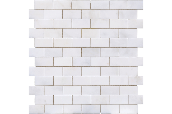 Afyon White 1x2 Honed