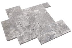 Silver Travertine - Altura Stone and Tile
