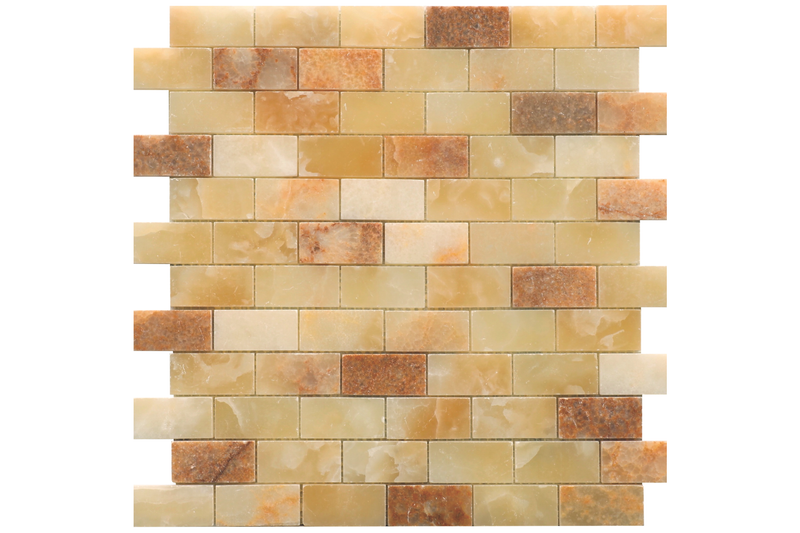 Amber Onyx 1x2 Polished - Altura Stone and Tile