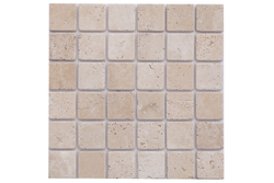 Classic Light Ivory 2x2 Tumbled - Altura Stone and Tile