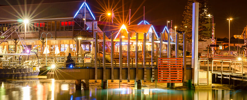 Fremantle Night Reflections