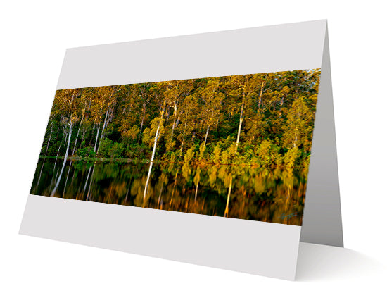 Sunrise Over The Lake Karri Valley Greeting Cards 10 Pack