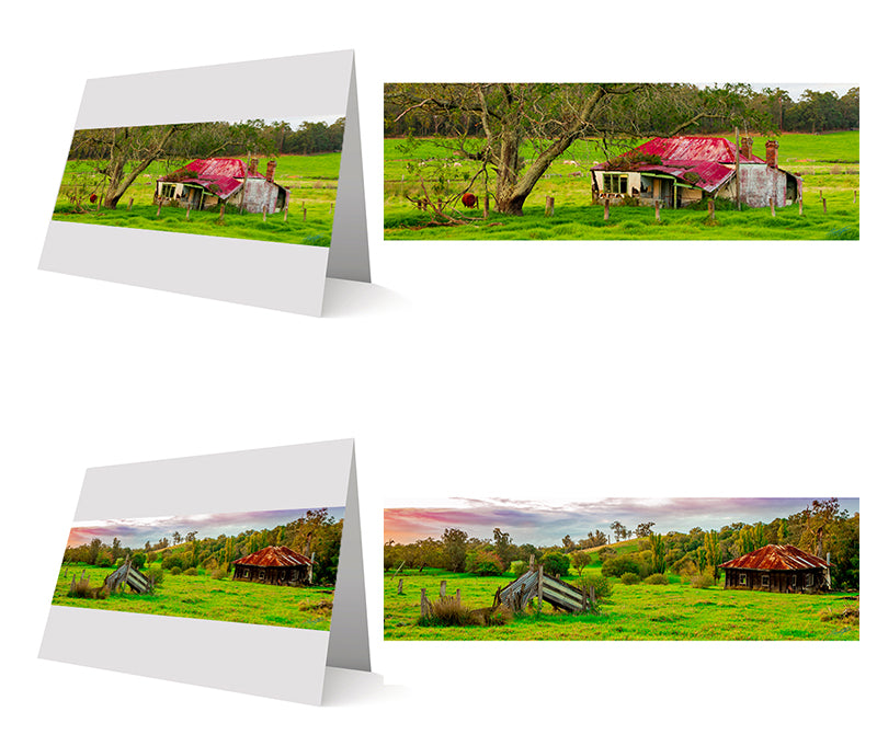 The Cottages Pack Greeting Cards 10 Pack