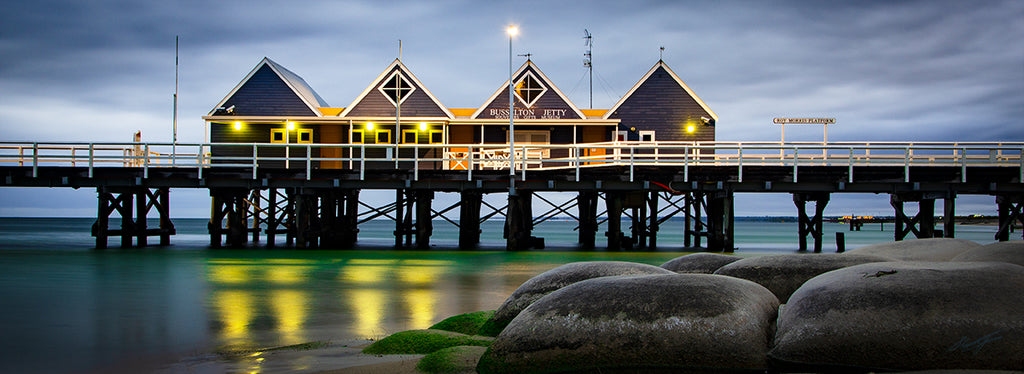 Stormy Winter Busselton Jetty