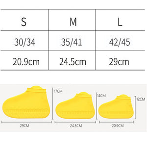 Couvres chaussures imperméables, antidérapants, 100% silicone