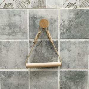 Nautical Rope Toilet Paper Holder