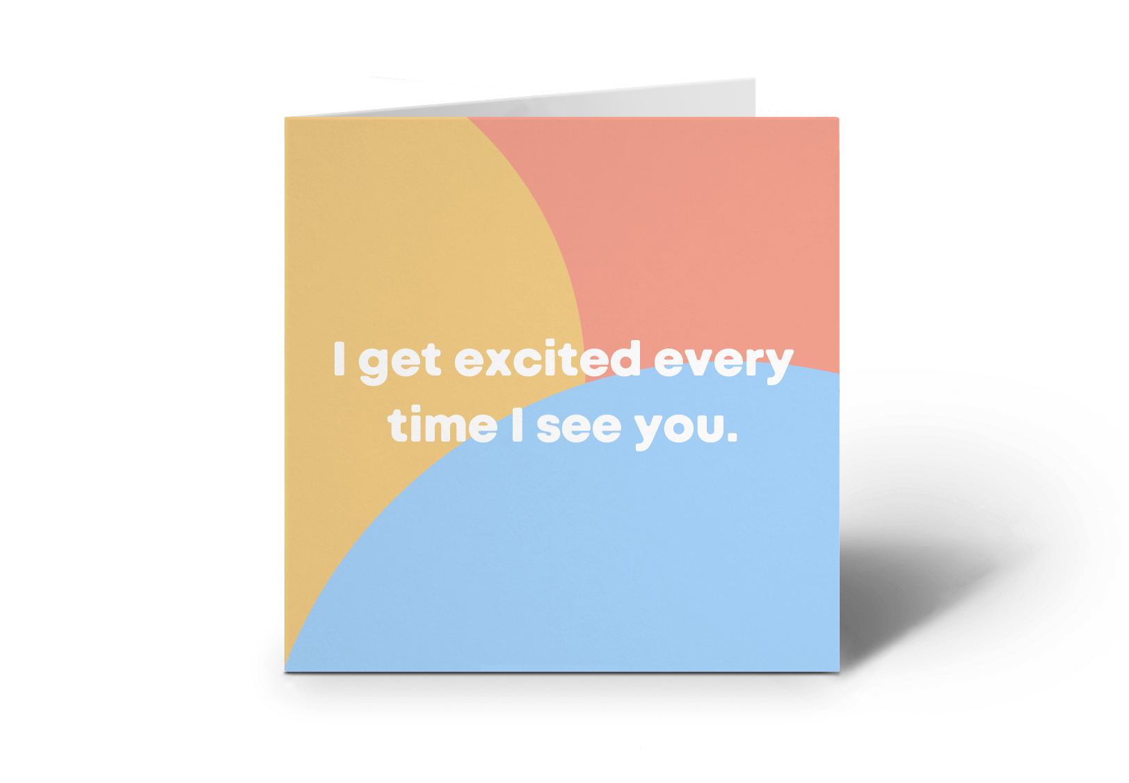 Excited Card