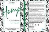 Hemp Conditioner Hair Care Products