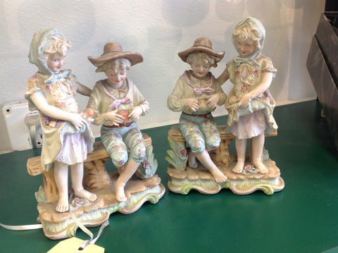 Vintage Porcelain Ornaments