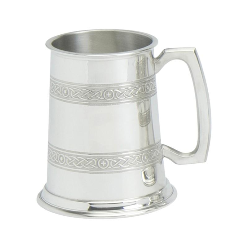 Celtic Band Pewter Tankard - Celtic Corner / Scottish Treasures