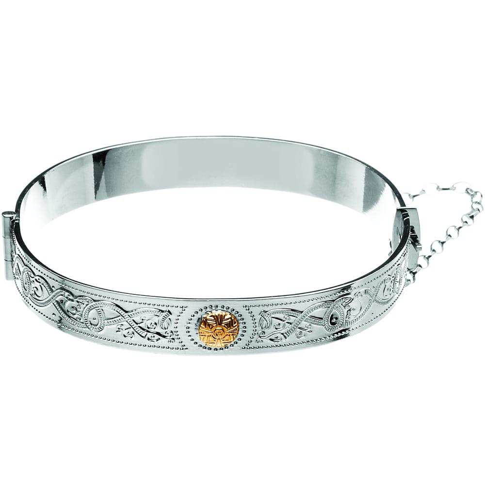 Celtic Warrior Shield Bracelet