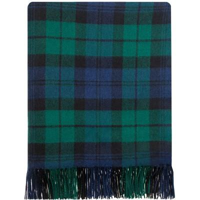 Black Watch Lambswool Ruana (aka Serape) - Celtic Corner / Scottish Treasures