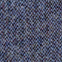 Swatch sample for demin blue fleck harris tweed cap