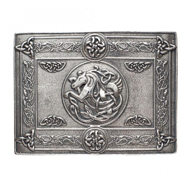 Kelpie (Celtic Water Horse) Kilt Buckle - Celtic Corner / Scottish Treasures