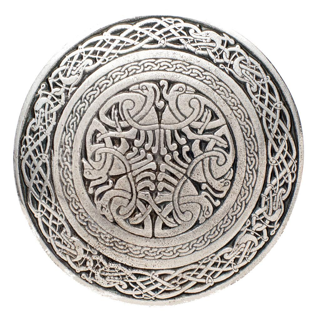 Celtic Birds Kilt Buckle - Celtic Corner / Scottish Treasures