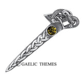 Book of Kells Swan Kilt Pin