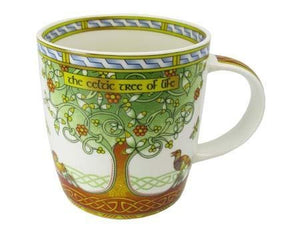 Tree of Life China Mug - Celtic Corner / Scottish Treasures