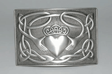 Claddagh Kilt Buckle - Celtic Corner / Scottish Treasures