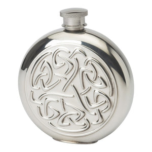 Celtic Scroll 6 oz Flask