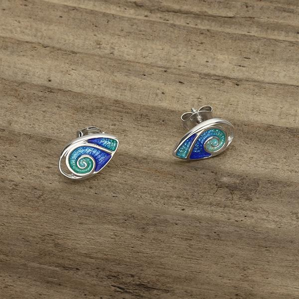 "Waterfall ""Tranquility"" Collection Earrings - Celtic Corner / Scottish Treasures"