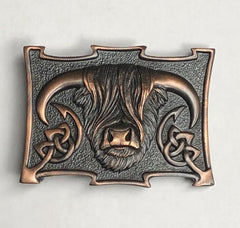 Highland Cow Buckle