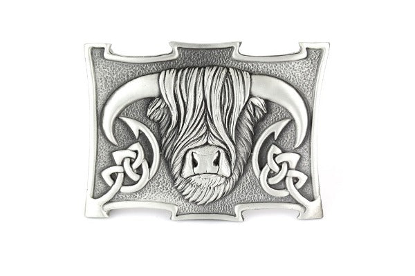Highland Cow Buckle - Celtic Corner / Scottish Treasures