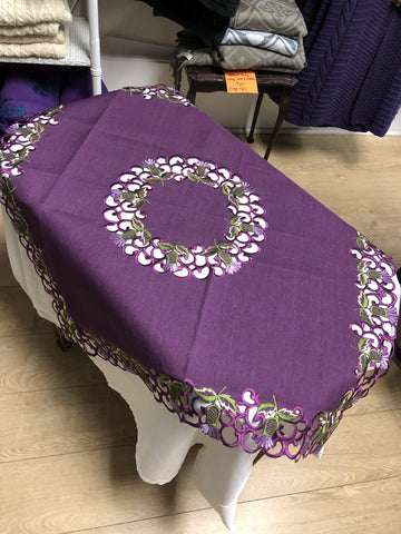 Thistle Table Runners and Squares