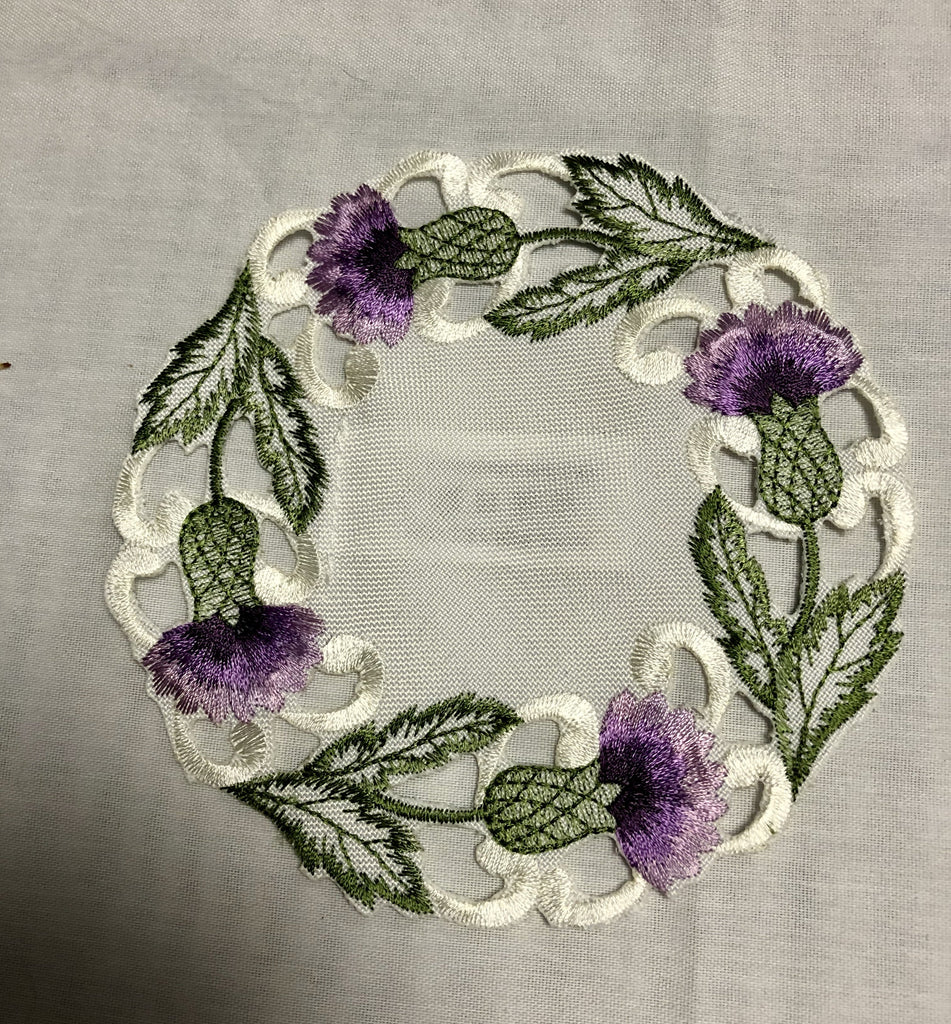Thistle Round Doilies - Celtic Corner / Scottish Treasures