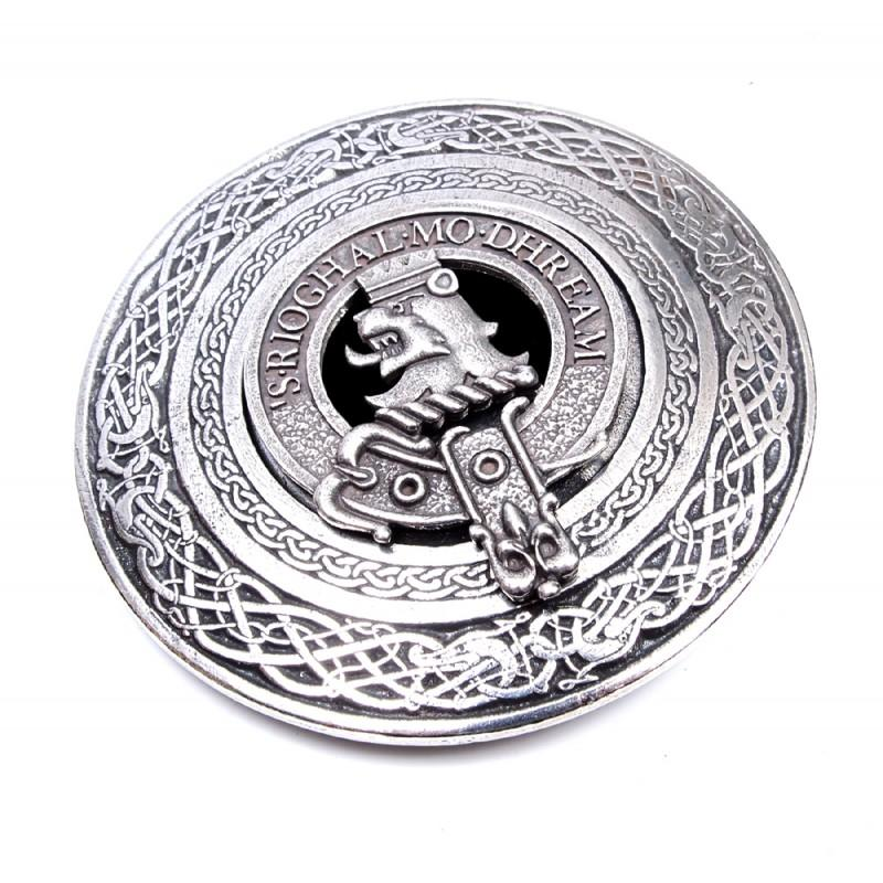 Clan Crest Buckle Circle A-L