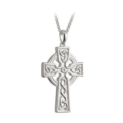 Double-sided Celtic Cross (large) - Celtic Corner / Scottish Treasures