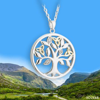 Tree of Life Pendant (10k gold)