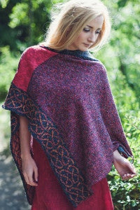 Silk & Irish Linen Poncho