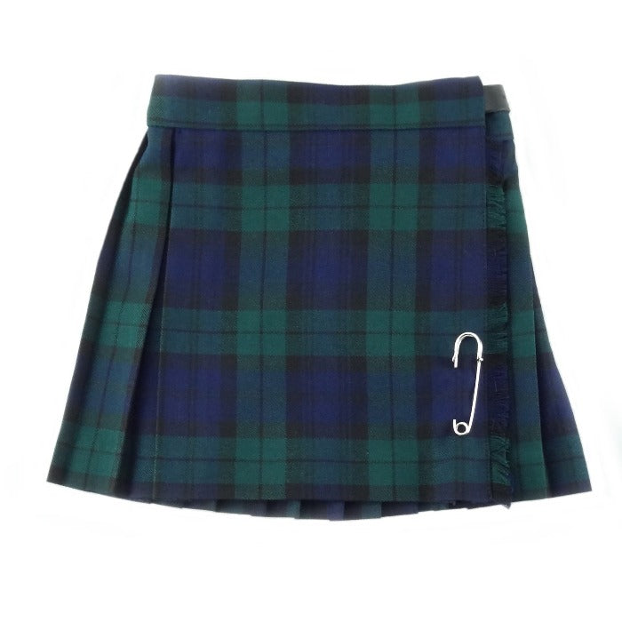 Black Watch poly viscose kiddie kilt