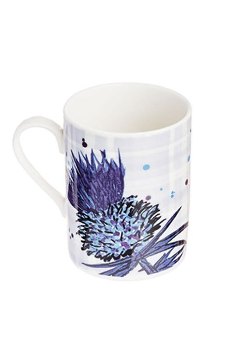 Bramble thistle mug