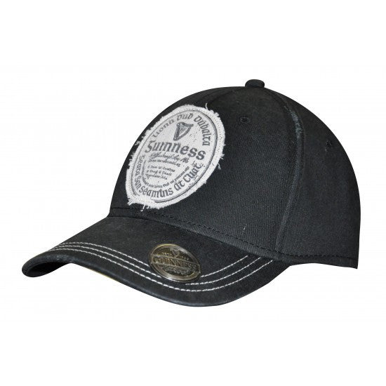Guinness Baseball Cap with bottle opener