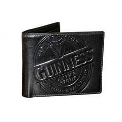 Guinness Trademark Leather Wallet