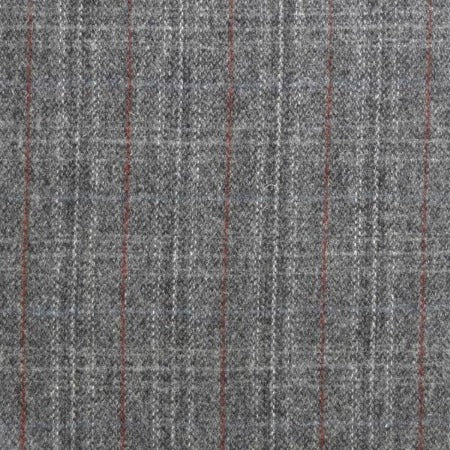 swatch sample of Grey Plaid Tweed