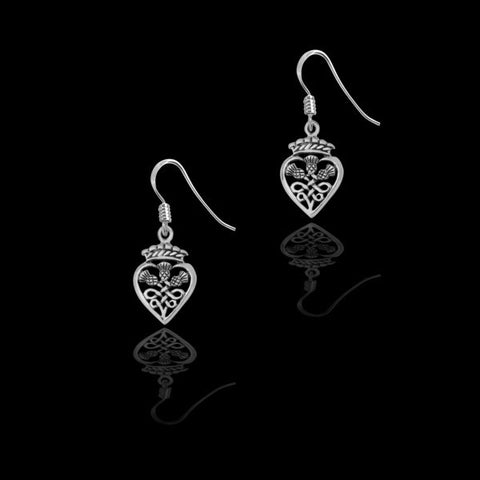 Celtic Luckenbooth Earrings