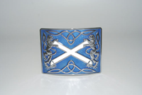 Highland Saltire with Lion Buckle