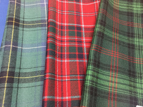 Tartan Scarf (Scottish Clan)