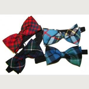 Scottish Tartan Bow Ties (adjustable)