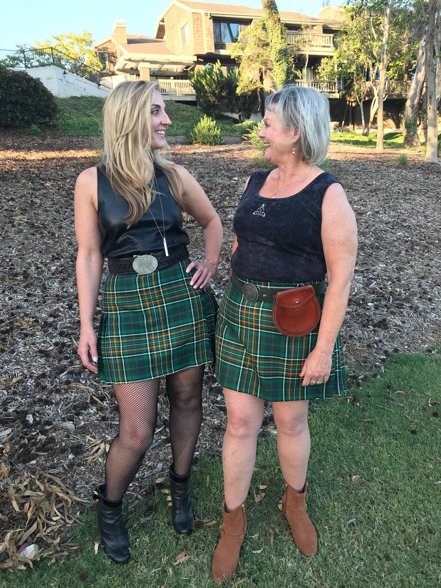 Mini Kilted Skirts